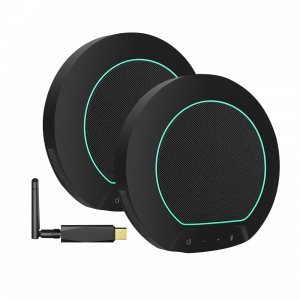 speaker and microphone